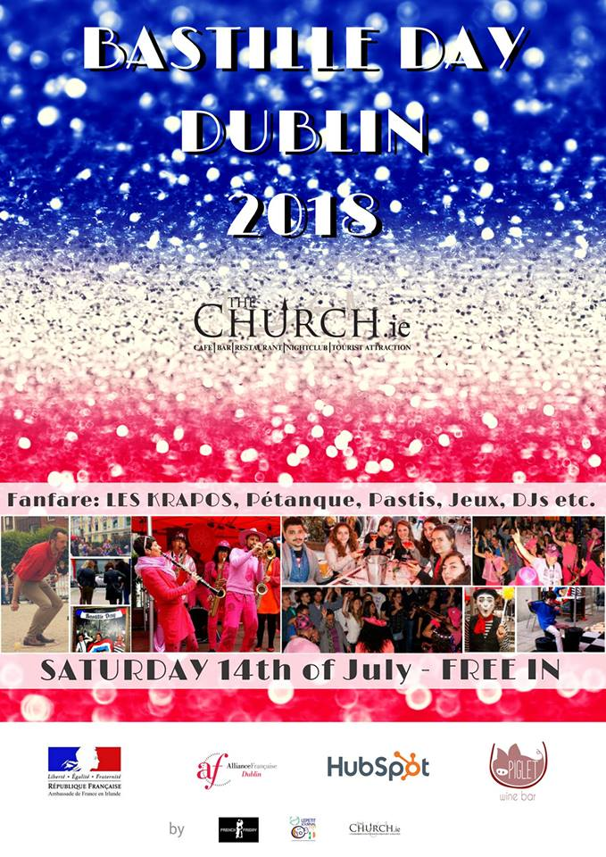 Bastille Day in Dublin