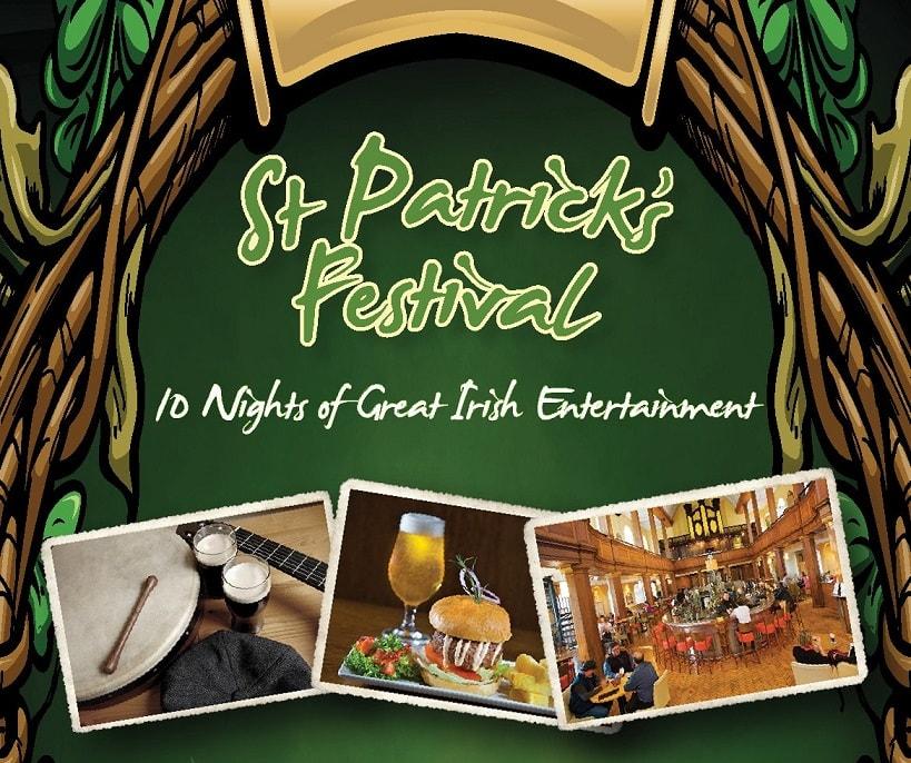 St patricks day in dublin 2018 the church bar restaurant for Food bar on church